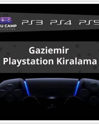Gaziemir PlayStation Kiralama